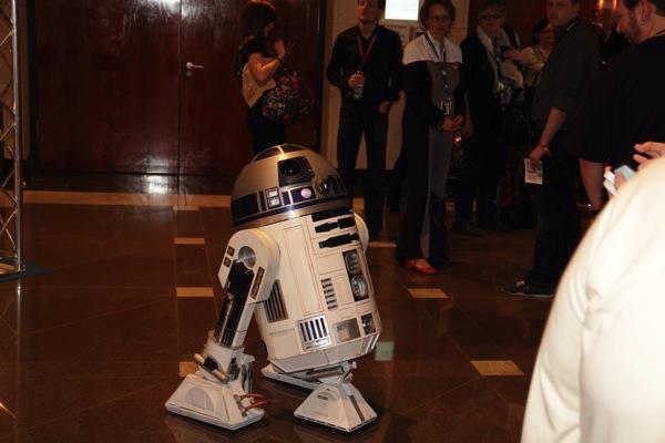 R2D2, der Astro-Droide aus Star Wars